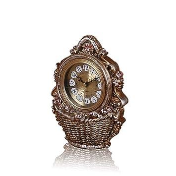 *reloj de mesa Mesa de reloj Sala de estar Decoración Dormitorio Relojes de escritorio antiguos