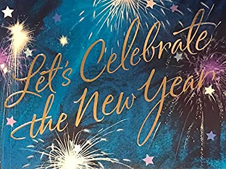 18 hallmark silver foil embellished new year fireworks party invitations 18 fill in