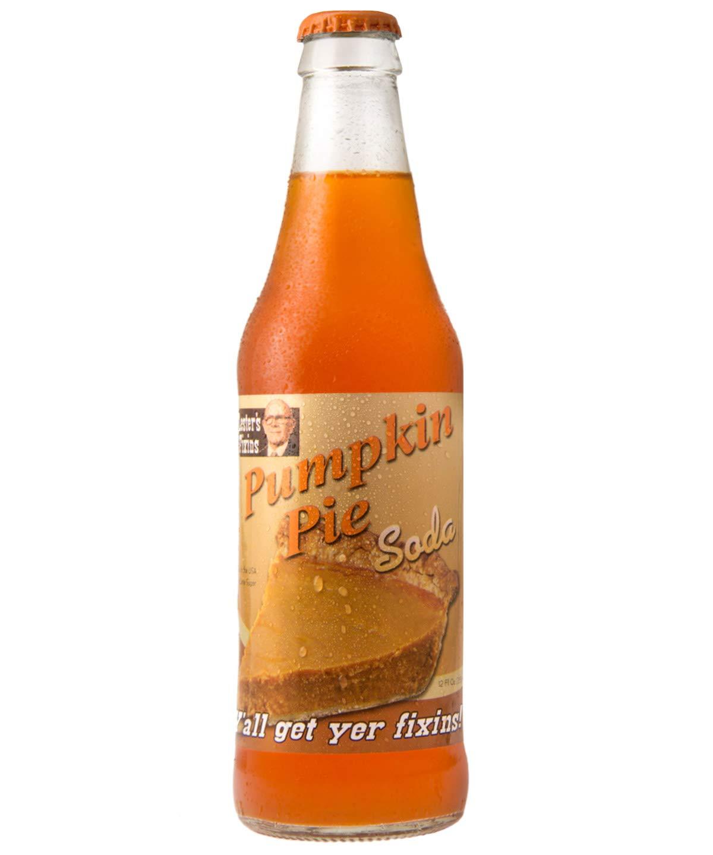 Lester's Fixins Pumpkin Pie Soda - 12oz Bottle