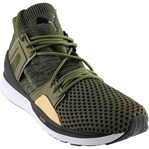 PUMA Mens B.O.G. Limitless Hi Evoknit Olive Shoes: Amazon.ca