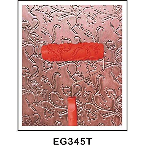 15 MagiDeal 7 Pollici Pittura In Rilievo Rullo di Vernice Con Manico In Plastica Multi Modello