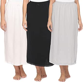 Mark-On Cotton Straight Skirt For Women