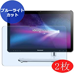 """【2 Pack】 Synvy Anti Blue Light Screen Protector for Lenovo ideacentre a320 aio 21.5"""" All in ONE Screen Film Protective Protectors [Not Tempered Glass]"""