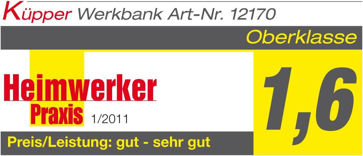 Kupper 12177 Werkbank Hergestellt In Deutschland 170 X 60 X 84 Cm Amazon De Baumarkt