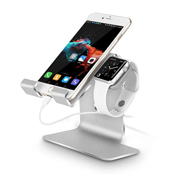 1528a6c569e950 Tranesca 2-in-1 Charging Stand Compatible with Apple Watch 4/Apple Watch