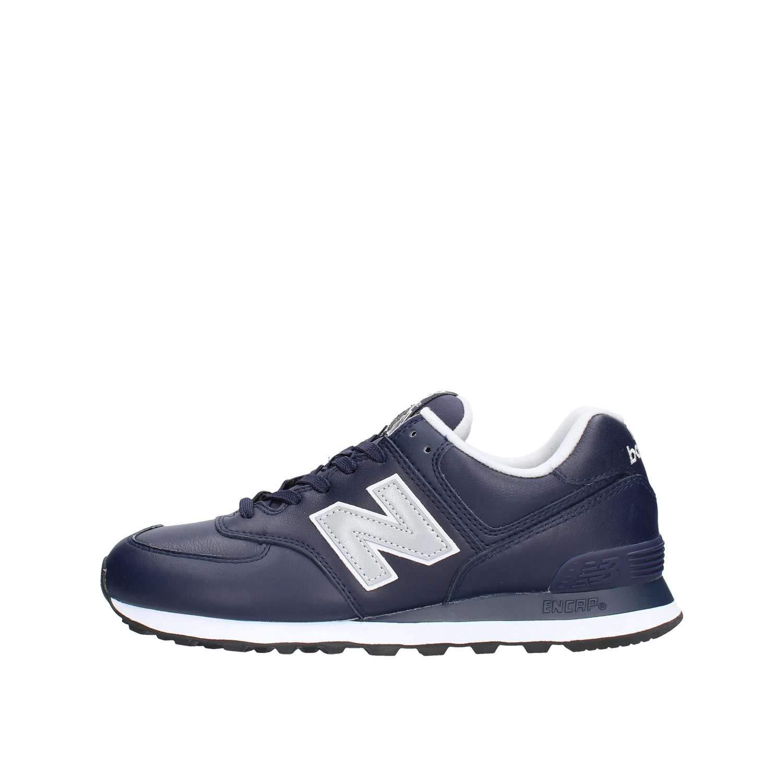 New Balance 574v2, Zapatillas para Hombre 40.5 EU Azul (Pigment/Munsell White Lpn)