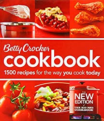 Betty Crocker Cookbook: 1500 Recipes for the Way You Cook Today (Betty Crocker New Cookbook)