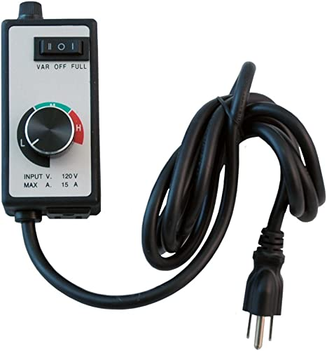 Yield Lab Variable Fan 3 Speed Controller for Grow Tent and HVAC Intake and Exhaust Duct Fan Ventilation System