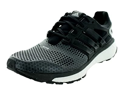 88a3b7d85 adidas Men s Energy Boost 2 ATR Black Metallic Silver Running Shoe 9 Men US