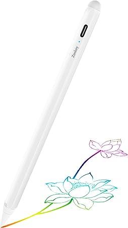 Amazon Com Lápiz Capacitivo Para Ipad De Apple Lápiz Táctil Con Rechazo De Palma Para Escritura Y Dibujo Precisos Compatible Con Apple Ipad Pro De 11 12 9 Pulgadas Ipad 6 7ª Y Ipad Mini 5ª