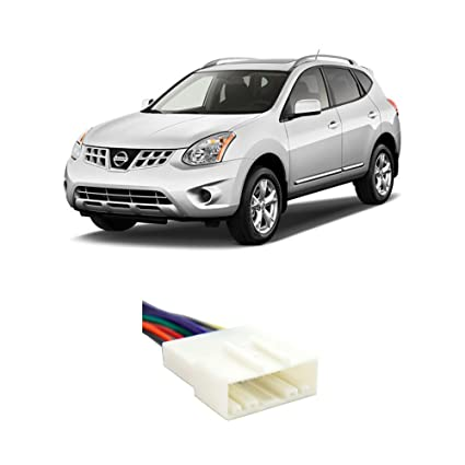 Amazing Amazon Com Fits Nissan Rogue 2008 2011 Factory Stereo To Wiring Cloud Venetbieswglorg