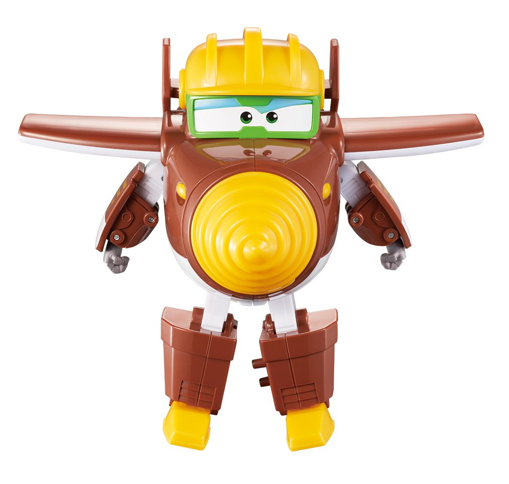 "Super Wings Transforming Todd Toy Figure | Plane | Bot | 5"" Scale"