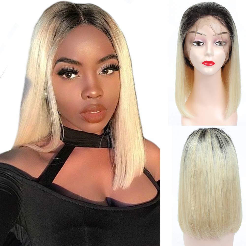 YOLAMI Ombre Two Tone Daily bargain sale Baltimore Mall 1B 613 Brazilian Fron Straight Lace Blonde