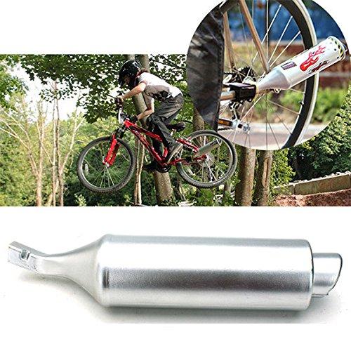 Moppi VTT vélo turbine moto tuyau d'échappement sonore à Motocard réglable