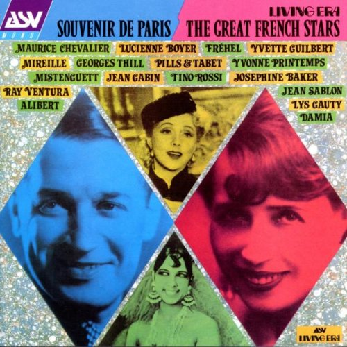 Souvenir De Paris: The Great French Stars, 1920-1933 by Asv Living Era