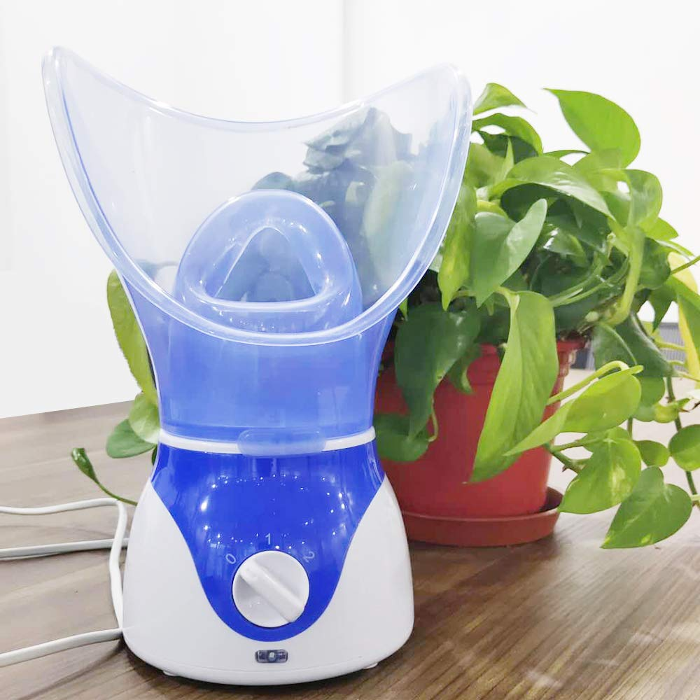 MODVICA Facial Steamer Deep Clean And Hydrate The Skin Water replenishing sprayer Face humidifier Professional Facial Treatment For Face Personal Sauna Spa (blue): Beauty