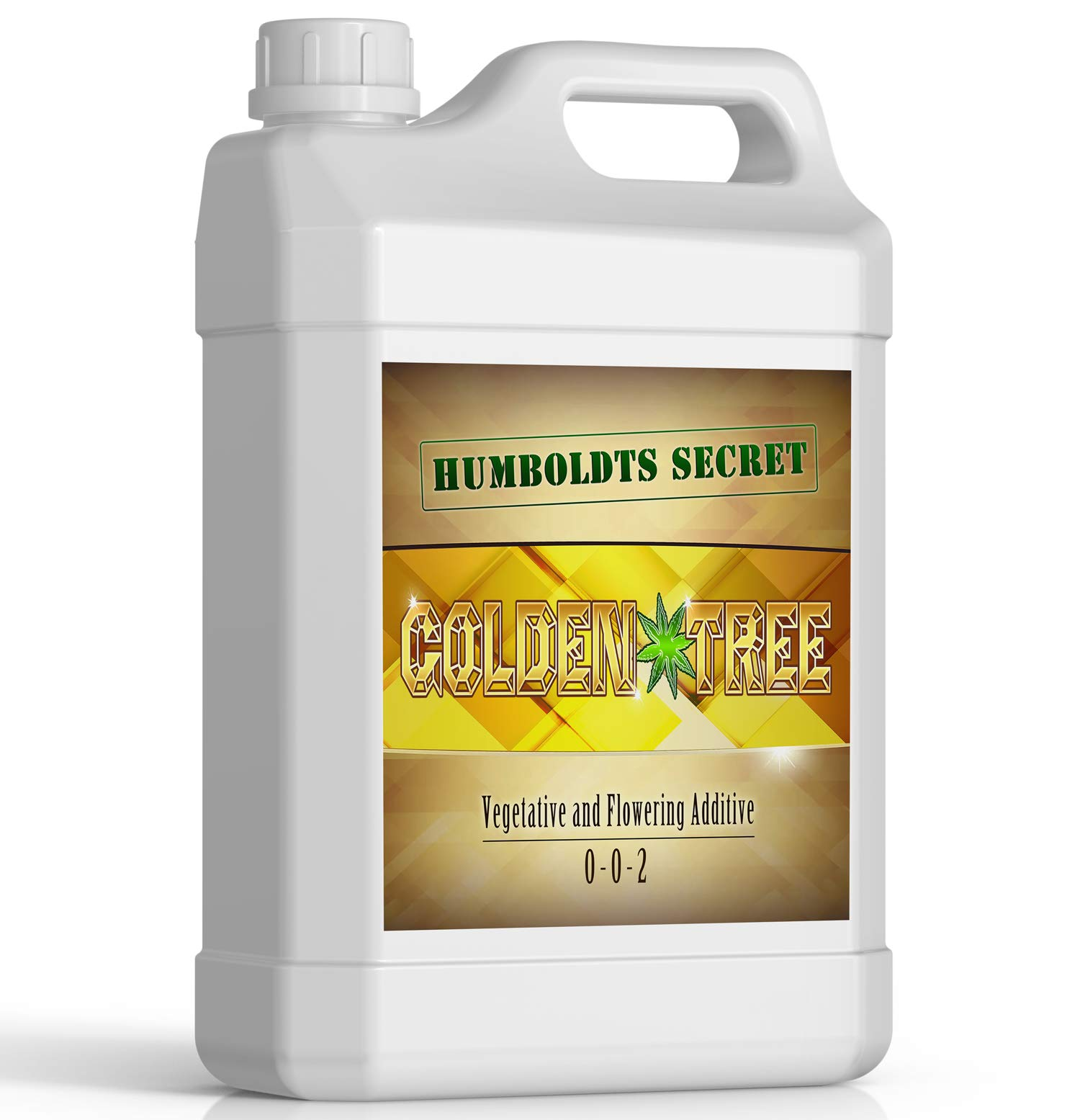 Golden Tree: Best Plant Food For Plants & Trees - Yield Increaser - Plant Rescuer - Excelurator - All-In-One Concentrated Organic Additive - Vegetables, Flowers, Fruits, Lawns, Roses, Tomatoes & More by Humboldts Secret