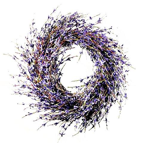 Purple Wreath - Lavender-inspired Dried Door Wreath Product