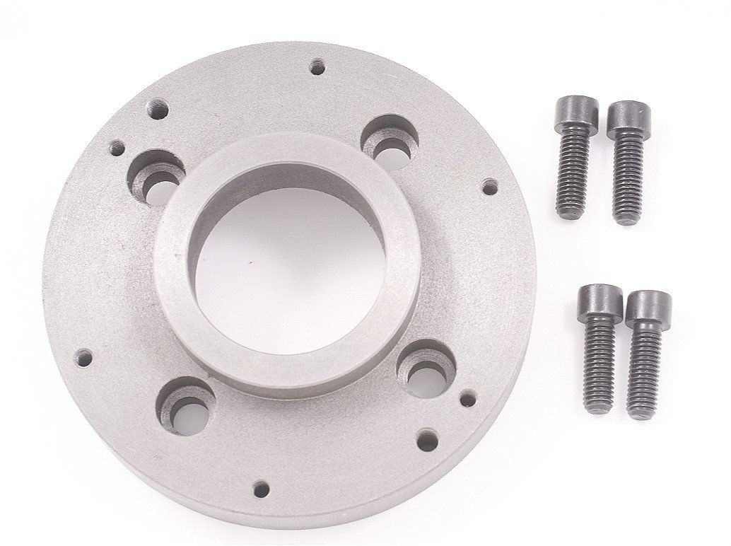 HHIP 3900-4840 A-Mount Semi-Machined Steel Adapter for 6'' Chucks, A1-5 Spindle