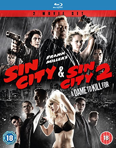 Sin City 1-2 [Blu-ray] (Sin City 1 And 2 Blu Ray)