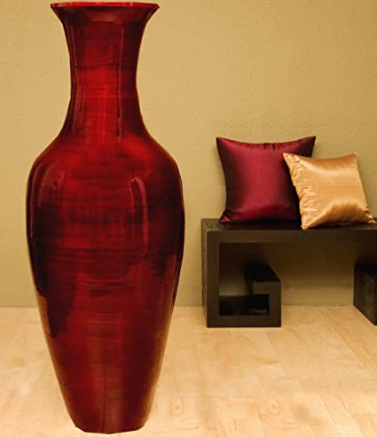 Amazon Greenfloralcrafts 60 Tall Classic Bamboo Floor Vase