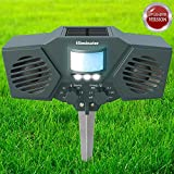 Eliminator Advanced Electric Solar Outdoor Animal and Rodent Pest Repeller for Deer, Dogs, Cats, Birds, etc. [UPGRADED VERSION]