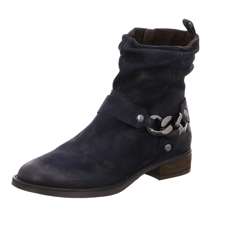 SPM schuhe & Stiefel Damen Stiefeletten Nevain Ankle Stiefel 06099177-004 blau 559865