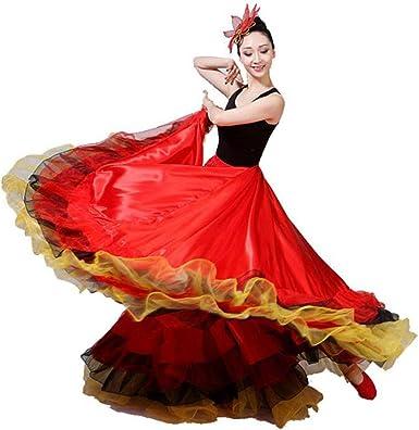 Z&S Baile de Apertura para Mujer Vestido de Columpio Grande Falda ...