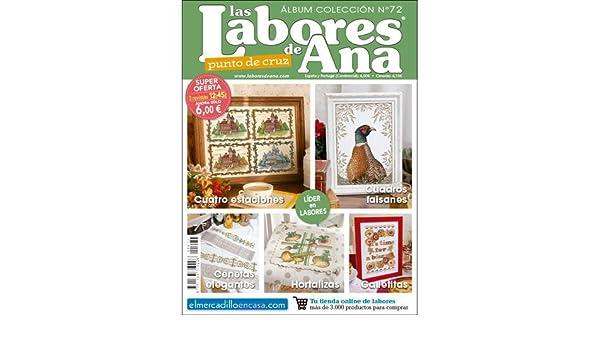 REVISTA ALBUM COLECCIÓN LABORES DE ANA Nº 72 - PUNTO DE CRUZ: Amazon.es: ALTERNATIVAS PUBLICITARIAS SL: Libros