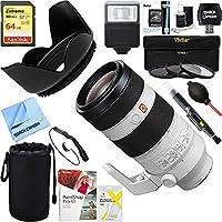 Sony (SEL100400GM) FE 100-400mm f/4.5-5.6 GM OSS Full Frame E-Mount Lens + 64GB Ultimate Filter & Flash Photography Bundle