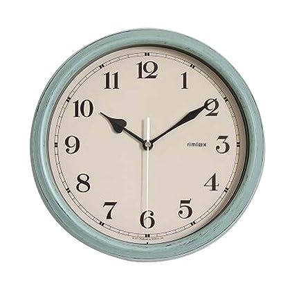 [T] Reloj de pared moderno de 11 pulgadas Reloj de pared silencioso decorativo que
