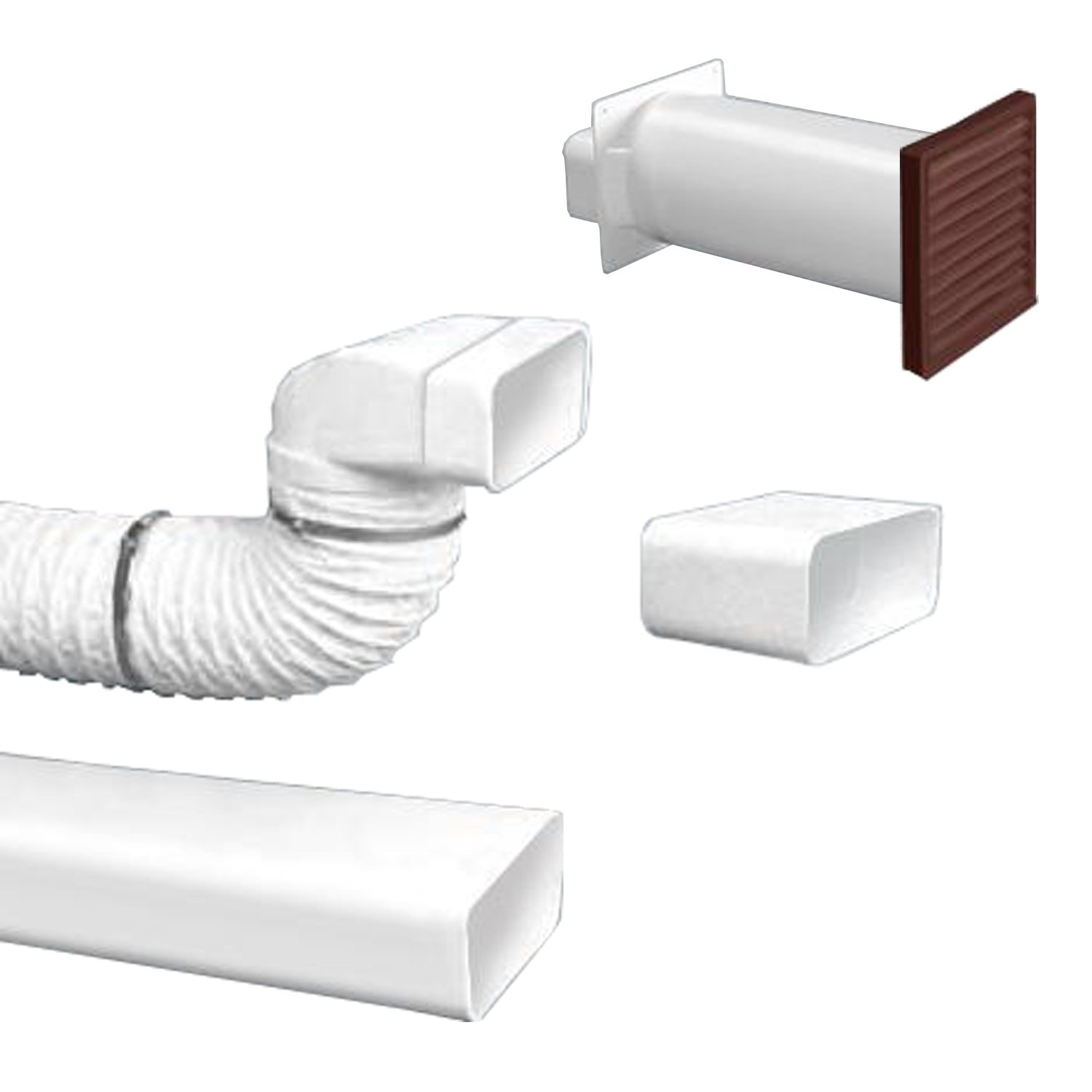 Bielmeier BIELMEIER High Performance Flat Pipe Kit-System 125 Soft/Brown 658006 V658006