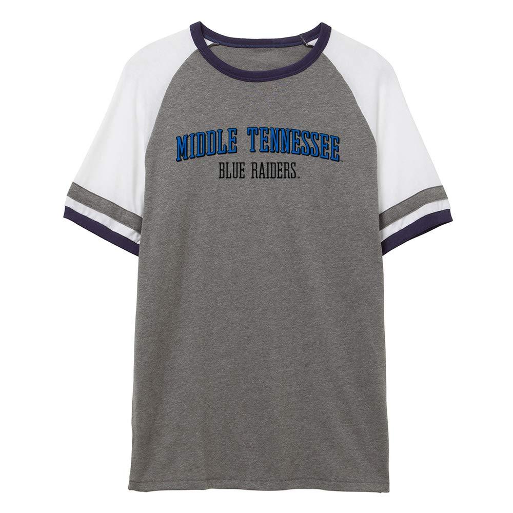 NCAA Middle Tennessee Blue Raiders RYLMTN07 Unisex Slapshot Vintage Jersey T-Shirt
