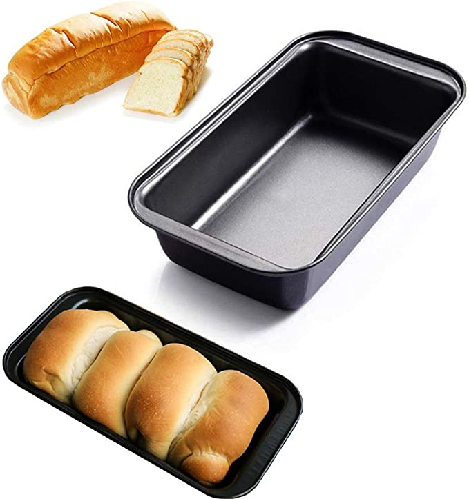 Rectangular Toast Box Carbon Steel Non-stick Bread Loaf Pan DIY Baking Mold Exy
