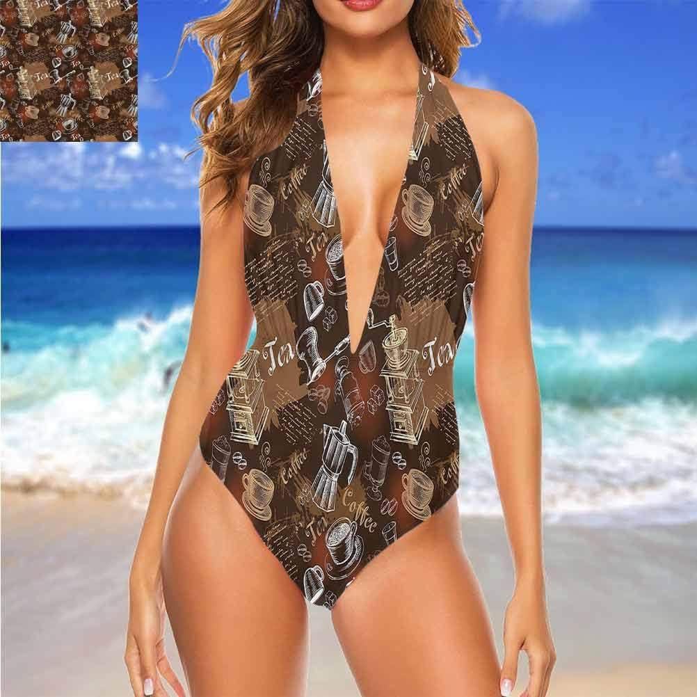 Adorise - Vêtements de plage - Modernes - Carrés diagonaux sur bleu - Pour une excursion à la plage ou la piscine Multi 25.
