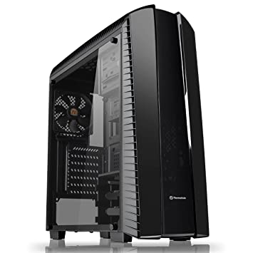 Thermaltake Versa N27 Midi-Tower Negro Carcasa de Ordenador - Caja de Ordenador (Midi-Tower, PC, SPCC, ATX,Micro-ATX,Mini-ITX, Negro, Juego): Amazon.es: ...