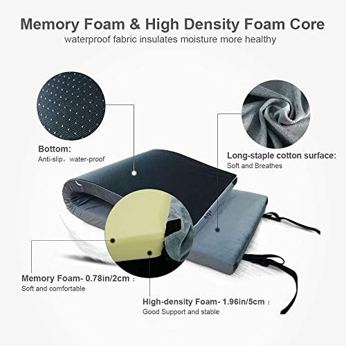 Portable Sleeping Pad Memory Foam Camping Mattress.72x24x2.75in 75x35x3in 75x38x3in. for Camping Pad,Sleepovers,Guest Bed,Outdoor Sleeping Cot,Floor Mattress, with Cover Removable and Storage Bag