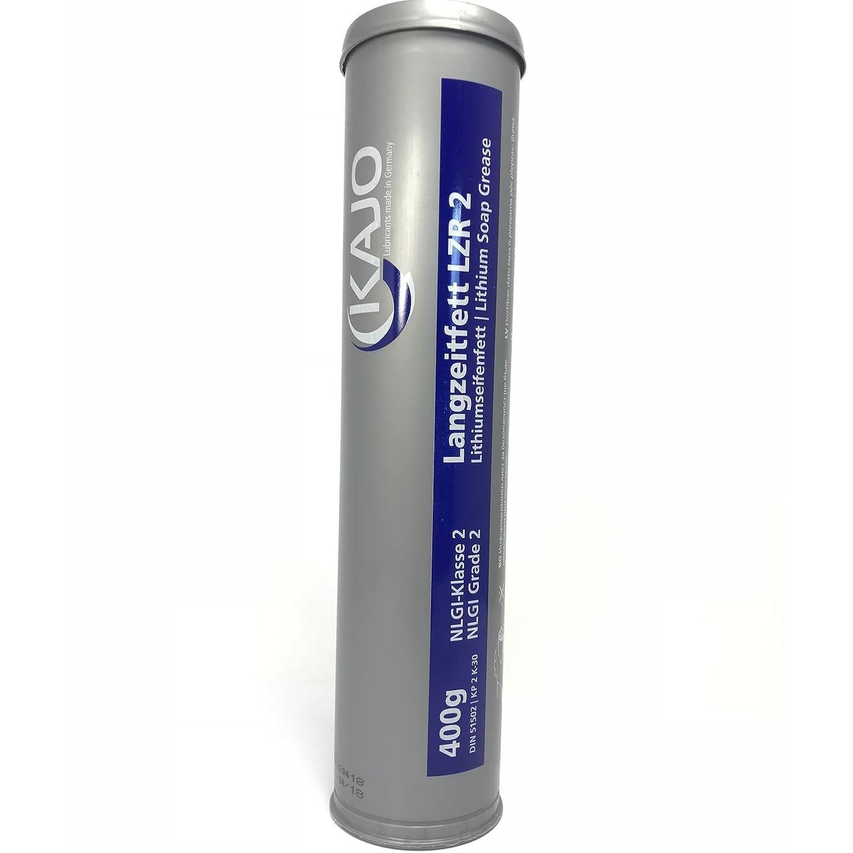 400g KAJO-Langzeitfett LZR 2/EP-Lithiumseifenfett - Kartusche