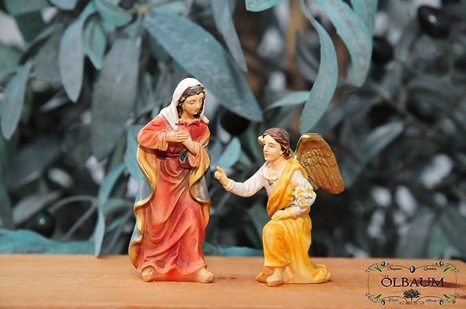 Anunciación de Belén de Navidad figuras de pesebre PASSION figuras de nacimiento - nacimiento de Jesús