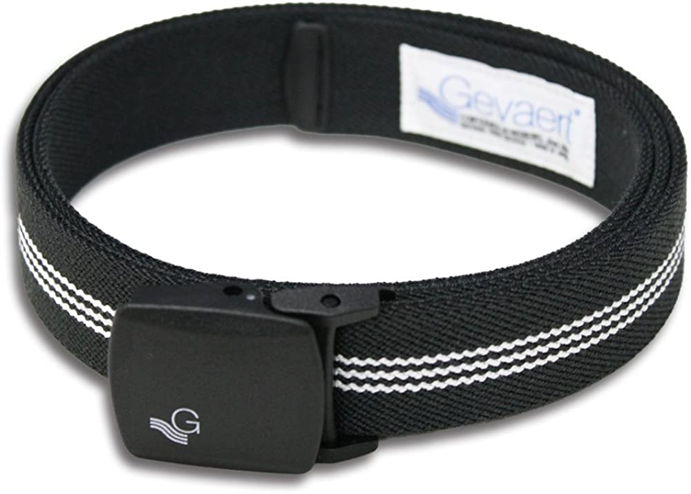 Gevaert Mens Plastic Buckle GI Belt