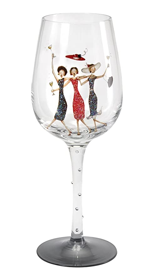 Heres To You Wine Glass