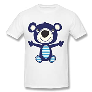 NUBIA Huggy Bear New Style T-shirt For Mens White