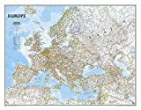 Europe Classic [Enlarged and Laminated] (National Geographic Reference Map)