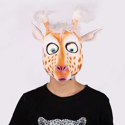 CONRAL Novedad máscara de Disfraz de Ciervo Lindo, Accesorios de ...
