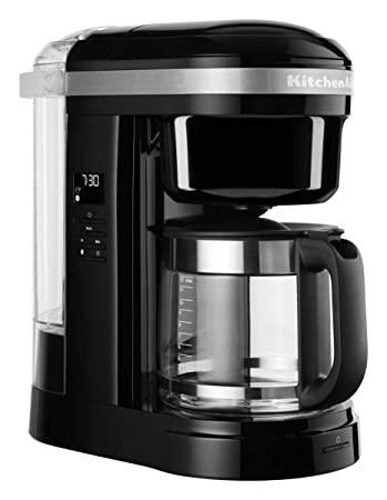KitchenAid Onyx - Cafetera de café, color negro: Amazon.es: Hogar