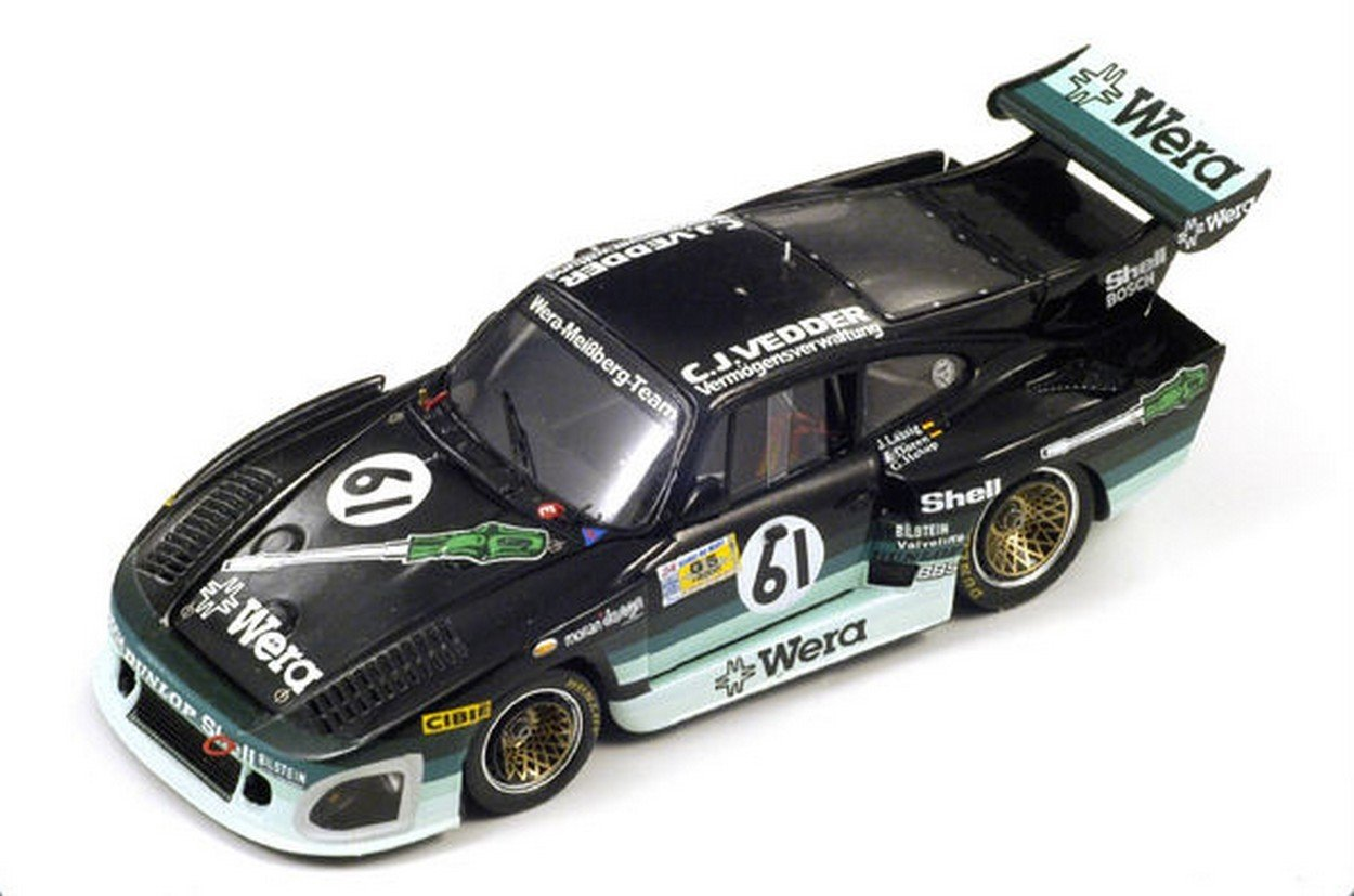 Spark Model S2059 Porsche K 3 N.61 LM 1981 1:43 MODELLINO Die Cast Model