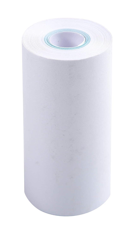 Exacompta - Rotolo di carta per calcolatrice senza rullo centrale, 57 x 25 mm, 10 pezzi 41806E