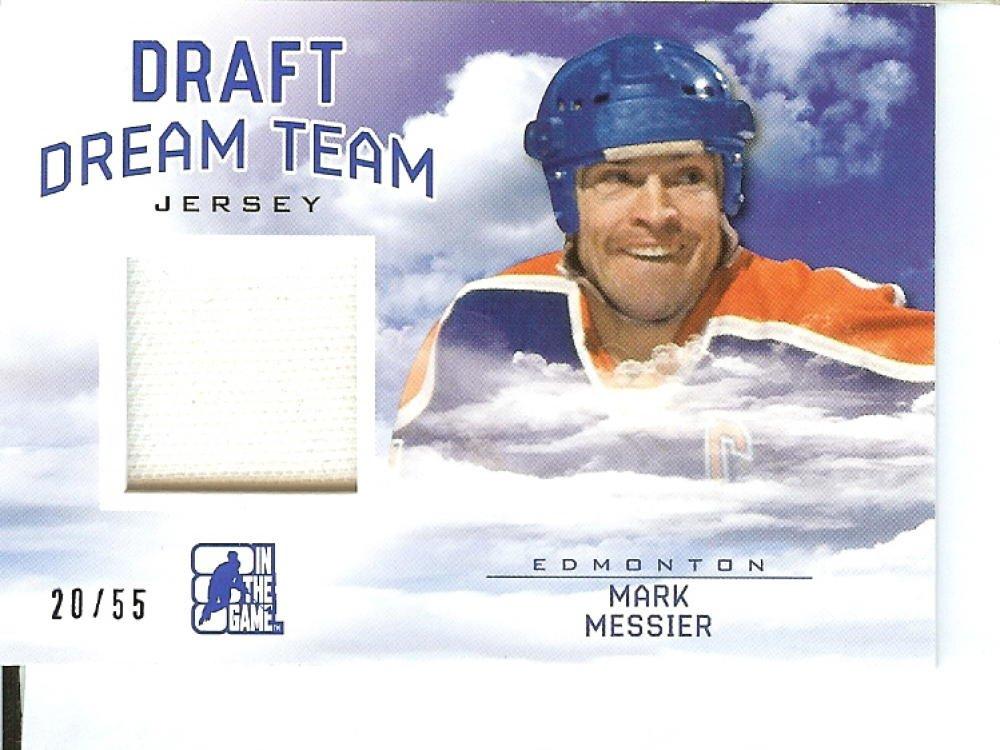2014 15 In The Game Draft Prospects Draft Dream Team Blue Jersey #DT 13 Mark Messier MEM 20 55