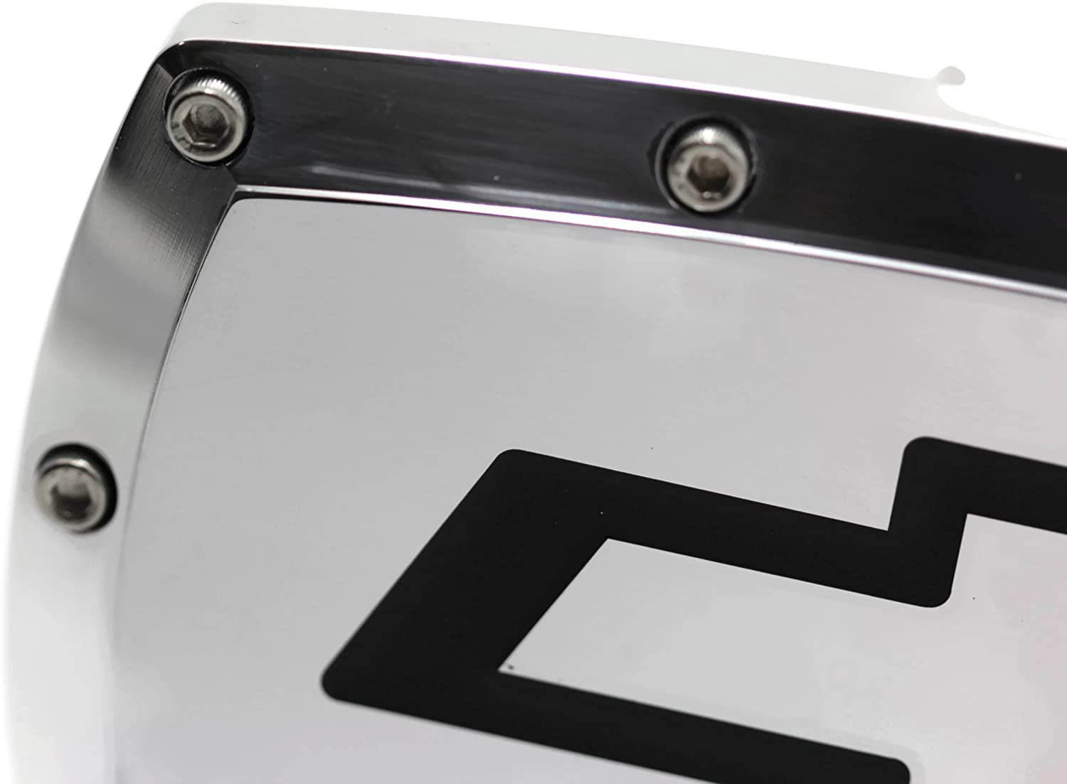 813-0723 Elite Automotive Trailer Tow Hitch Cover for Chevrolet Chrome