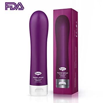 Water Based Lubricant Super Slick Long Lasting Condom Compatible Oopsix Liquid Personal Lube Water Based 4.2